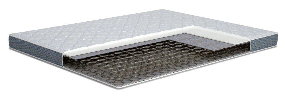 Матрасы без усиления лучше использовать на кроватях в загородних домах, редкого использования
