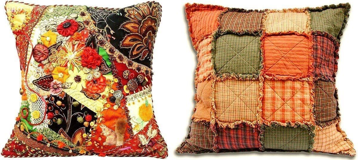 Яркая подушка