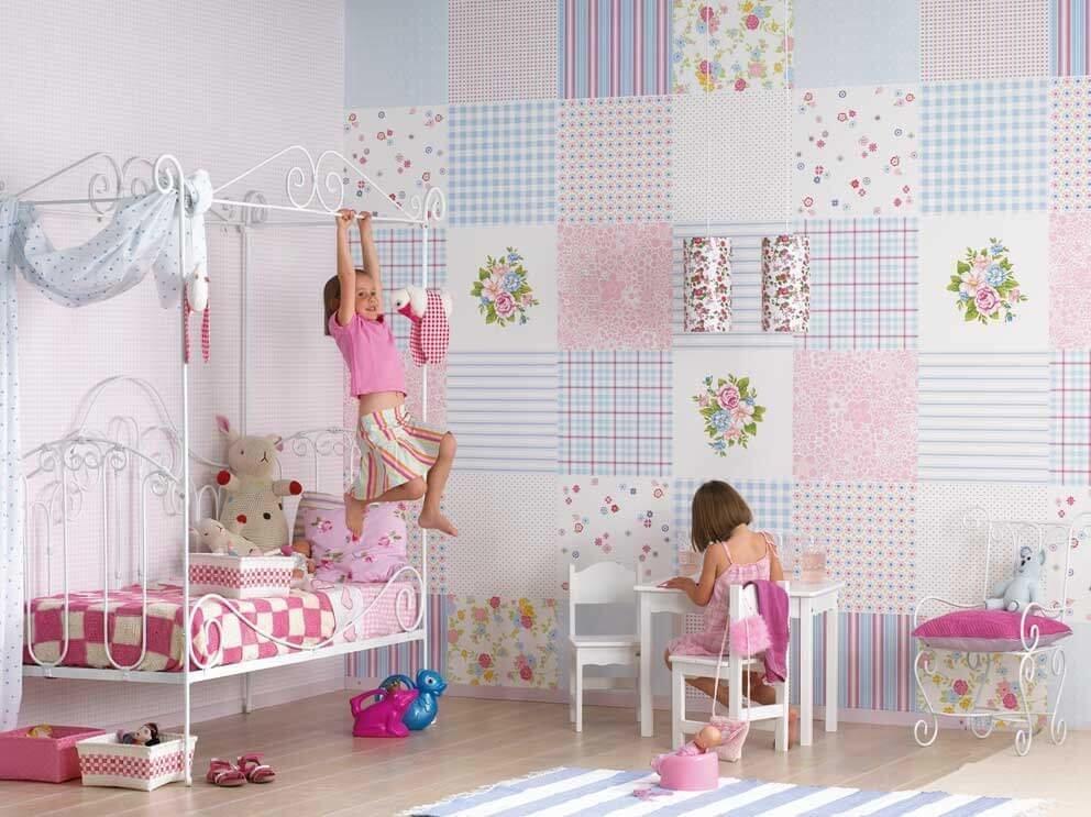 Добавить настроение и красок в детскую комнату