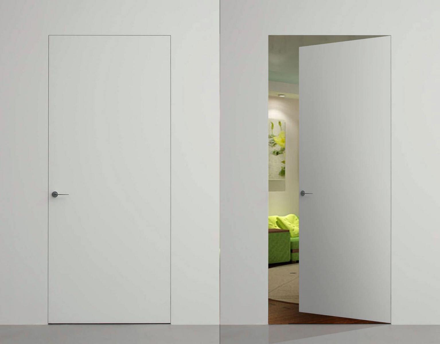 Двери с коробкой скрытого монтажа