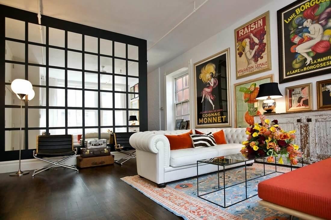 Эстетика пин-ап отлично дополнит волнительную атмосферу спальни.