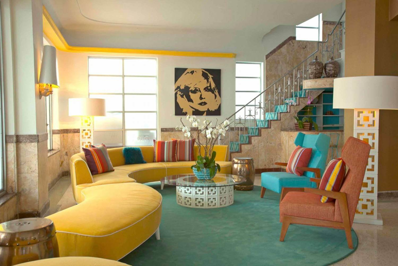 Мебель в пин-ап стиле дополнит эстетику ретро.