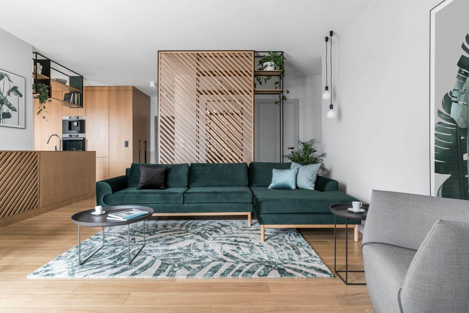Просторная квартира-студия для молодой семьи.