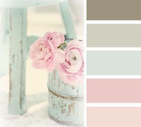 Нежность в цветовой гамме