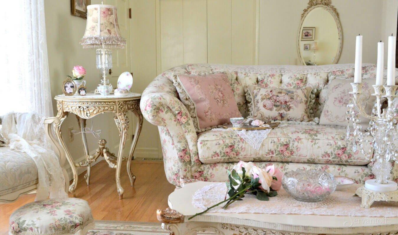 Шикарная мебель – отличительная черта стиля