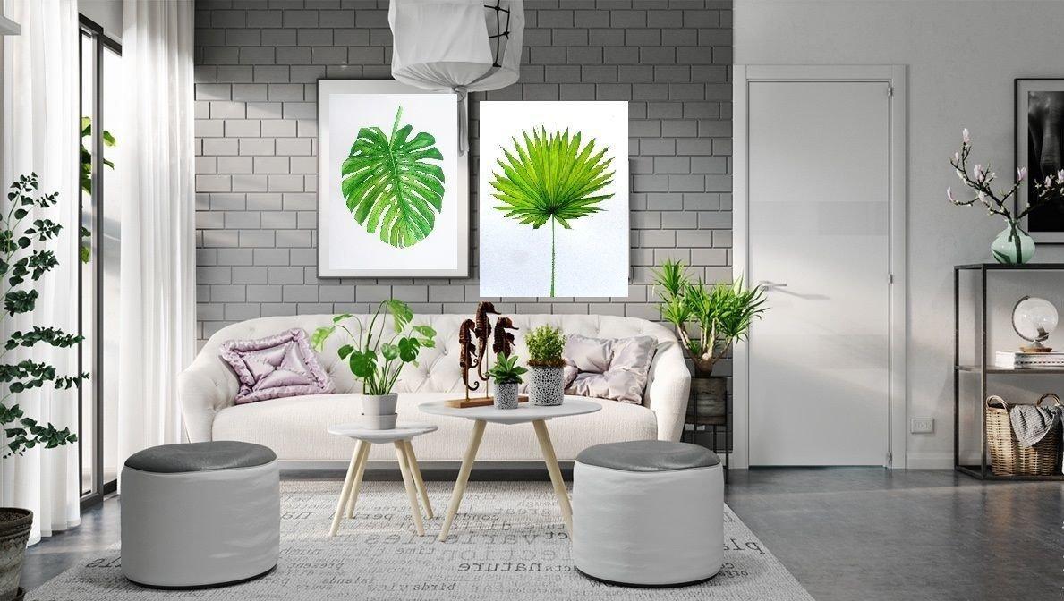 Тропический стиль это не только прерогатива частного дома, если аккуратно реализовывать идею интерьеру квартиры легко передать летнее настроение