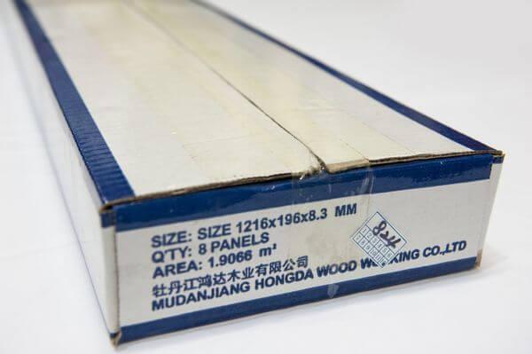 Маркировка на упаковке ламината