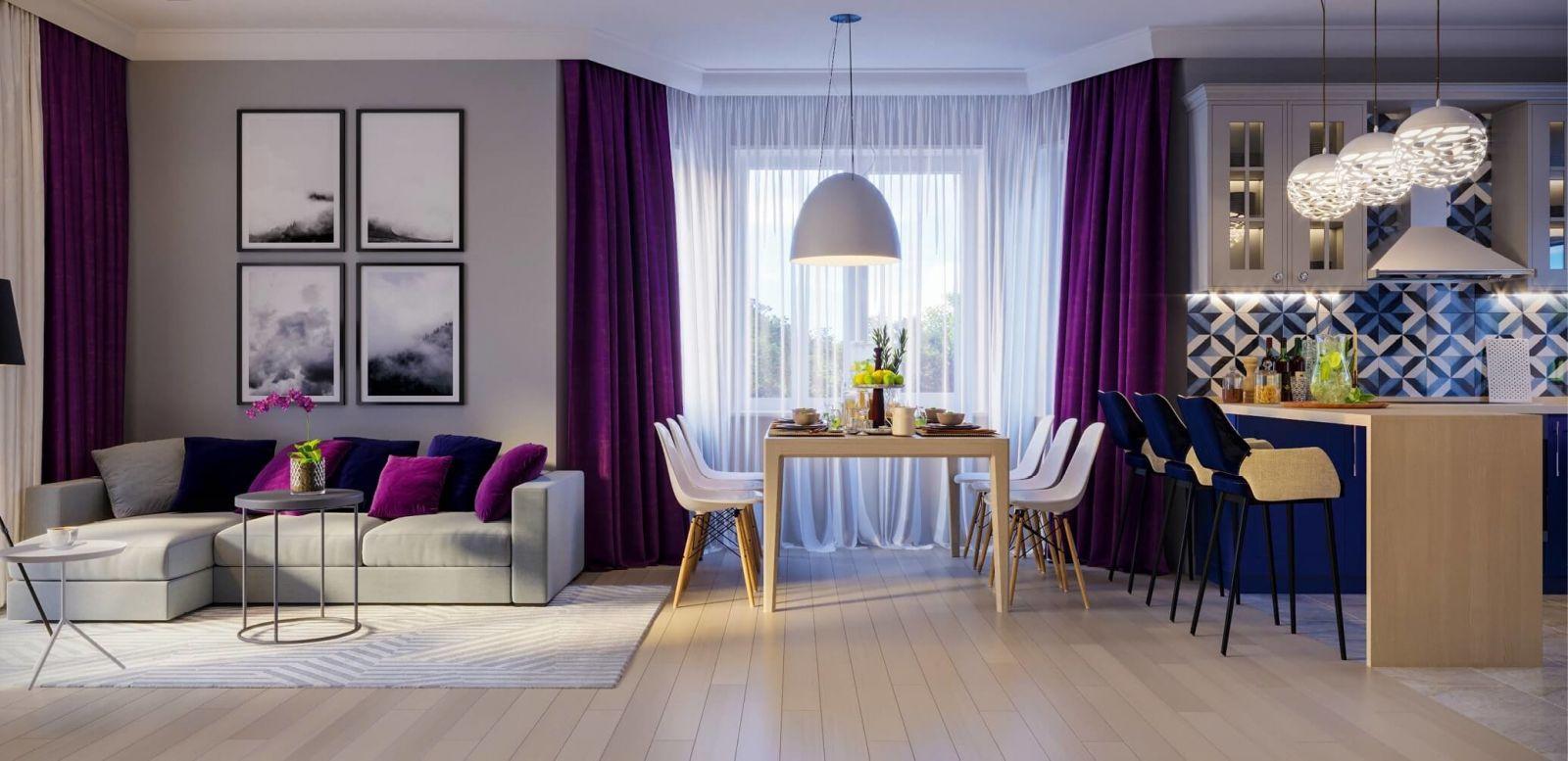Умиротворенный цвет Greenery в 2018 году сменяет дерзкий и яркий Ultra Violet.
