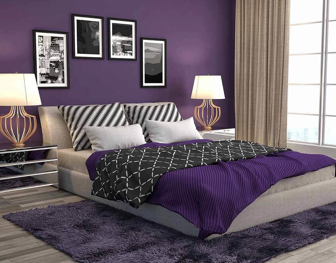 Цвет Ultra Violet лучше использовать в качестве оттеночной акцентуации.