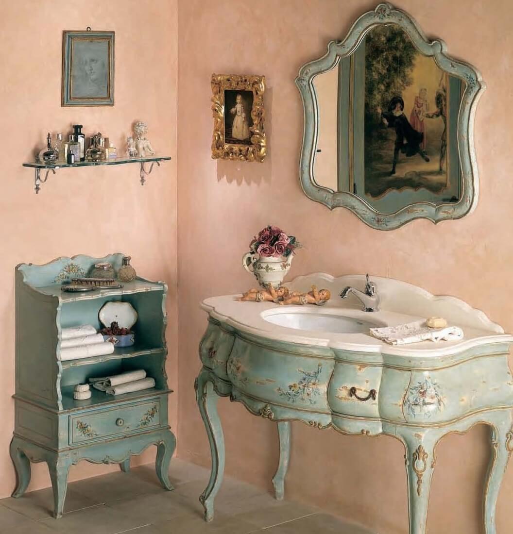 Резьба, позолота, изысканные витьеватые формы позволяют мебели и аксессуарам в винтажном стиле стать символом розкоши и изобилия.