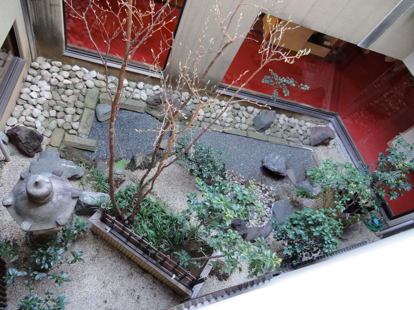 Японский сад – Цубо