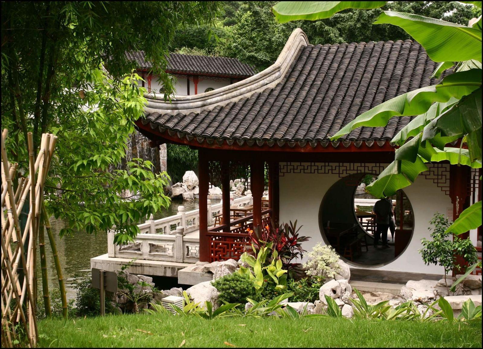 Хижина тясицу – японский чайный домик
