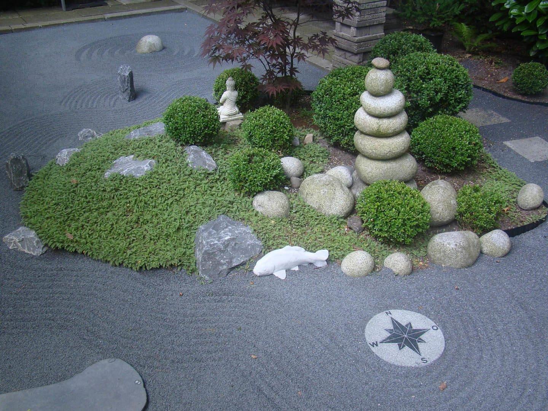Сад камней – каждый камень что-то олицетворяет